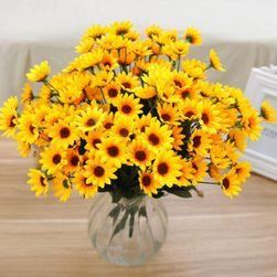 Mű virág sárga virágokból