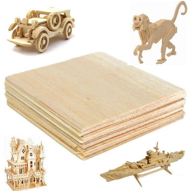 Lesene pološče za izdelavo modelov 1