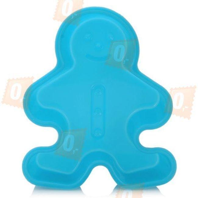Forma na dort ve tvaru panáčka - modrá 1