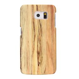 Kryt na Samsung Galaxy S6 Edge - dřevěný motiv