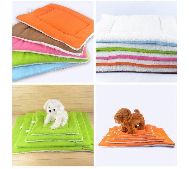 Теплая подушка для собак 1
