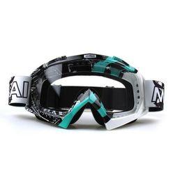 Ochelari motocross cu lentile tranparente și colorate