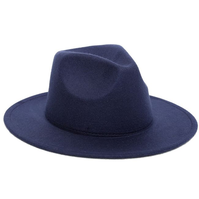 Jesienny kapelusz z filcu - różne kolory 1