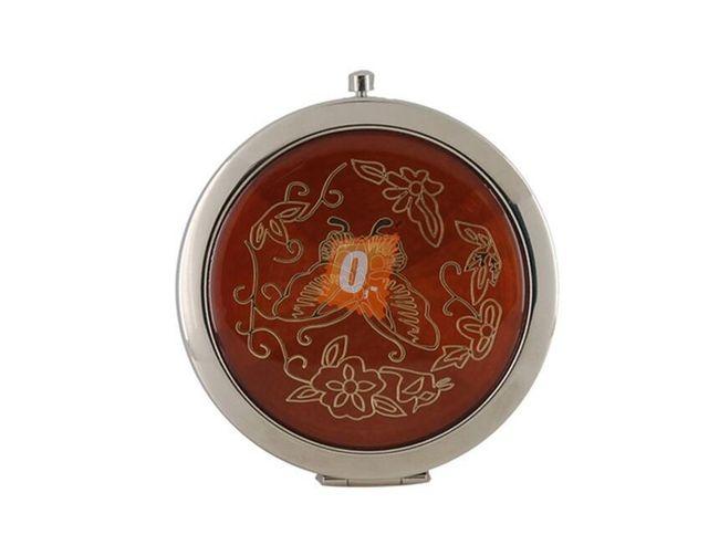 Kosmetické kapesní zrcátko - červené 1
