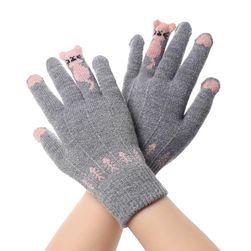 Damskie rękawiczki B06757