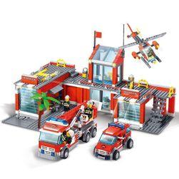 Пожарна станция - играчка за момчета