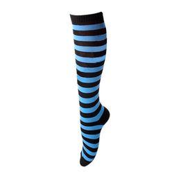 Črtaste ženske nogavice - 7 barv