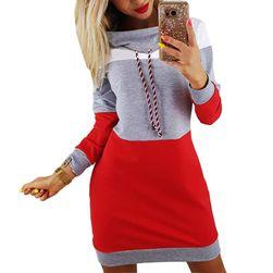 Mikinové šaty Carina