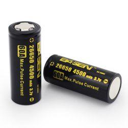 Újratölthető 26650 akkumulátor - 4500 mAh