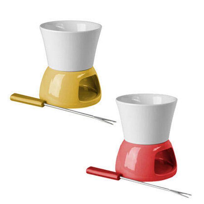 Mały ceramiczny zestaw na fondue 1