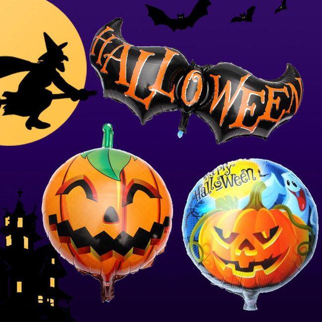 Надувной шар с мотивом Хеллоуина 1