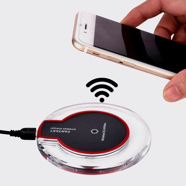 Încărcător fără fir pentru telefoane inteligente 1