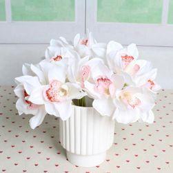 Umělé orchideje - 6 kusů