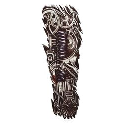 Переводная татуировка- Робот под кожей