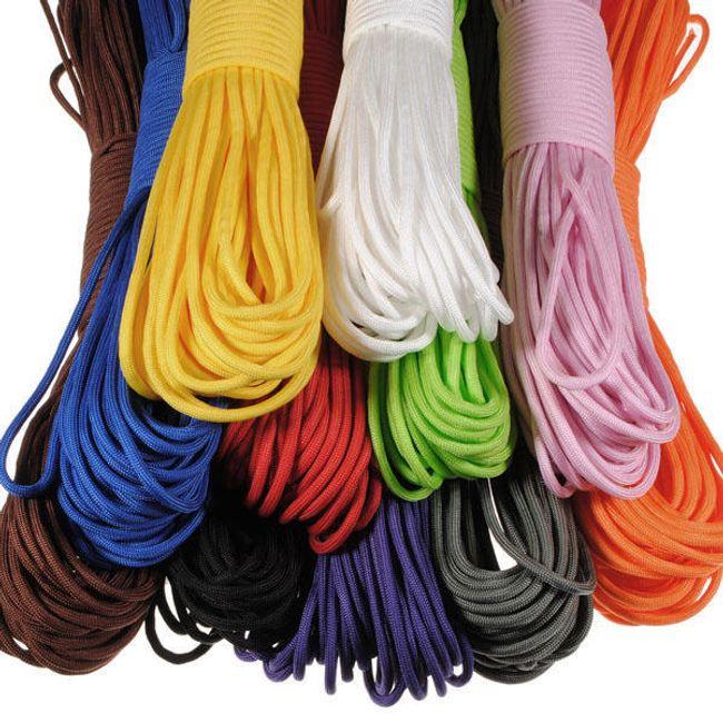 Frânghie din nailon pentru outdoor - 11 culori 1