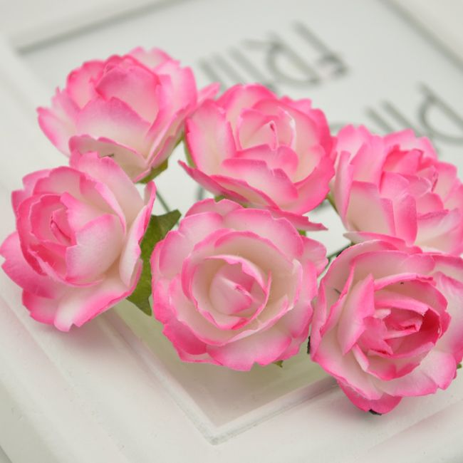 Dekorativni šopek z vrtnicami - več barv 1