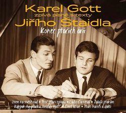 Karel Gott - Konec ptačích árií - pesem z besedilom Jiřího Štaidl, CD PD_282833