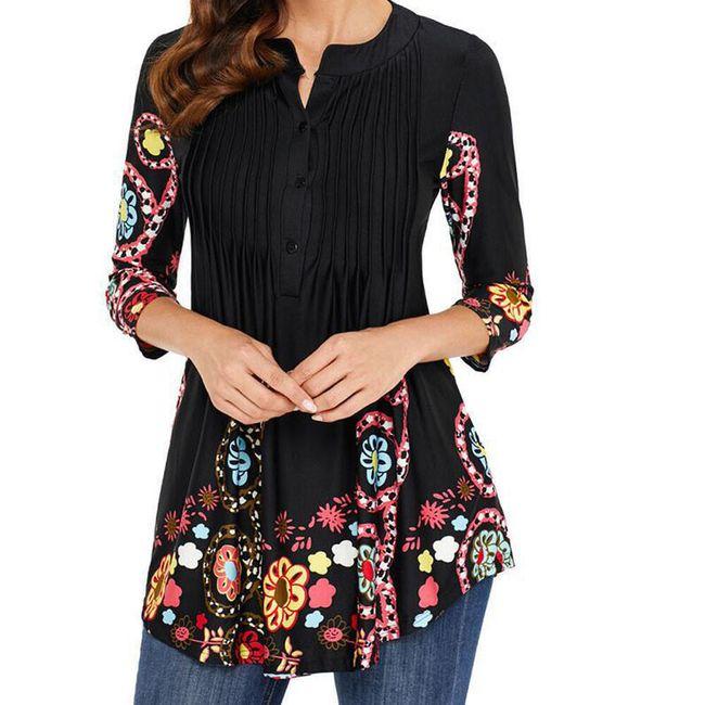 Ženska bluza sa raznim motivima - 4 varijante 1