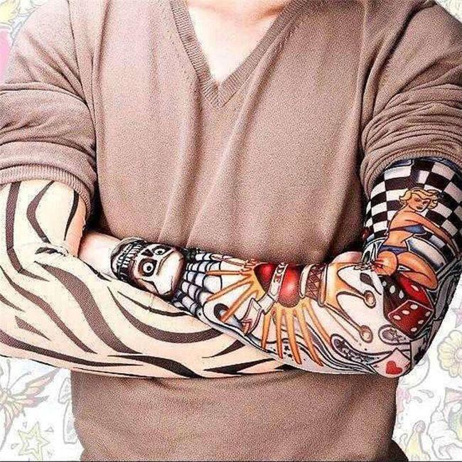 Sada rukávů s tetováním - 6 kusů 1