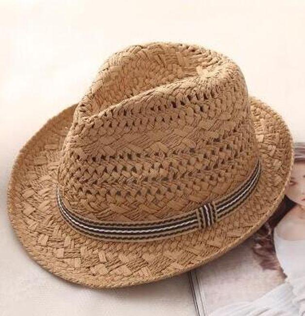 Соломенная шляпа DK57 1