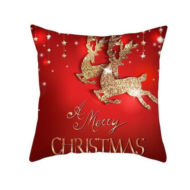 Bożonarodzeniowa poszewka na poduszkę Wx45 1