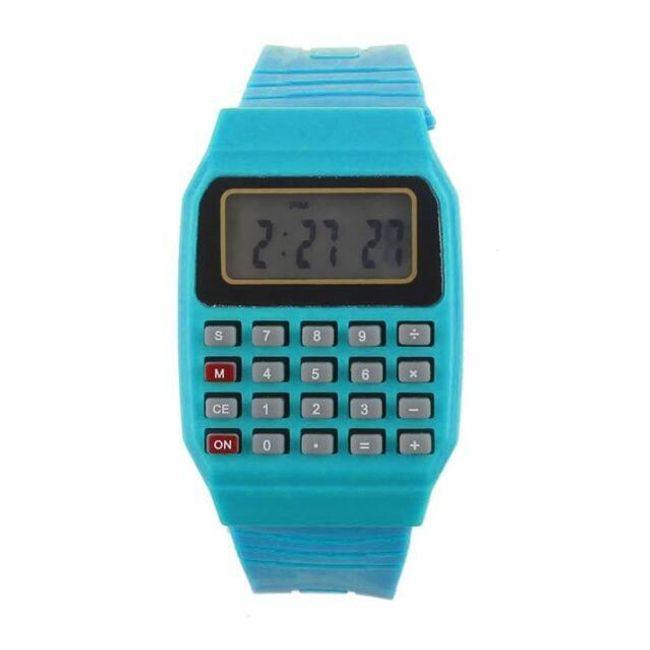 Silikonska ura s kalkulatorjem 1