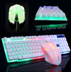 LED игрална клавиатура с мишка Rayn