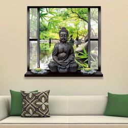 Наклейка на стену - Будда