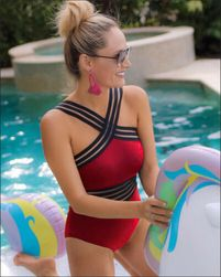 Damski strój kąpielowy jednoczęściowy Nonela