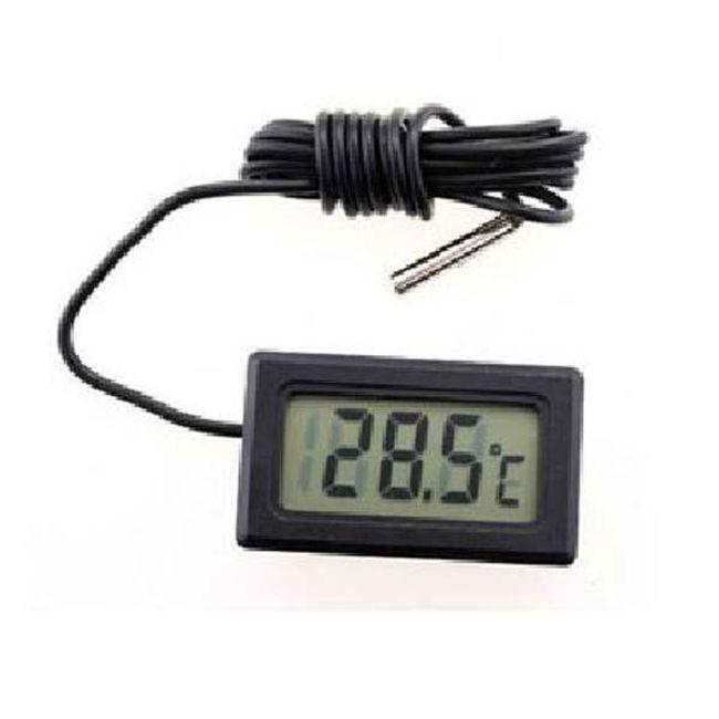 Mini LCD digitalni termometar za automobil, stan ili za merenje temperature vode 1