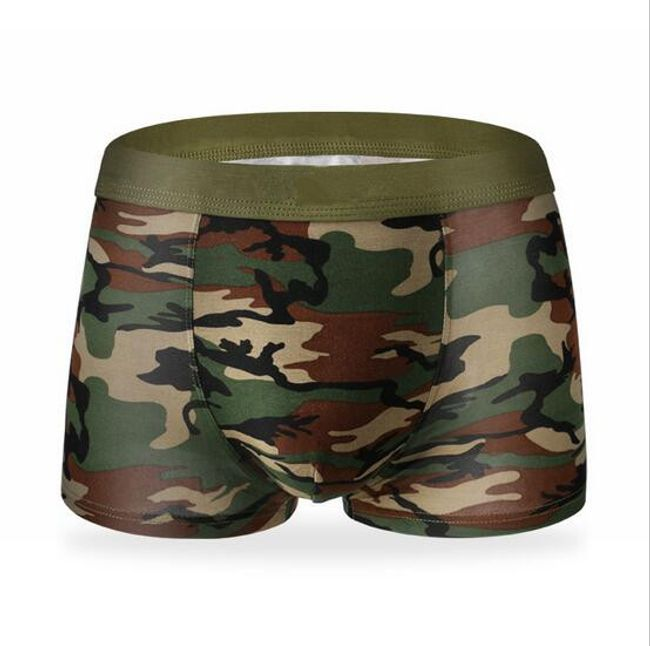 Férfi army alsó nemű katonai mintában -4 színben