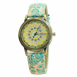 Kolorowy damski zegarek - 6 kolorów