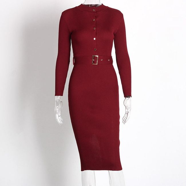 Damska pleciona sukienka Caroline 1