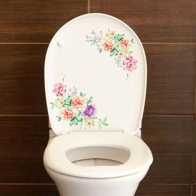 Dekorační samolepka - květiny 1