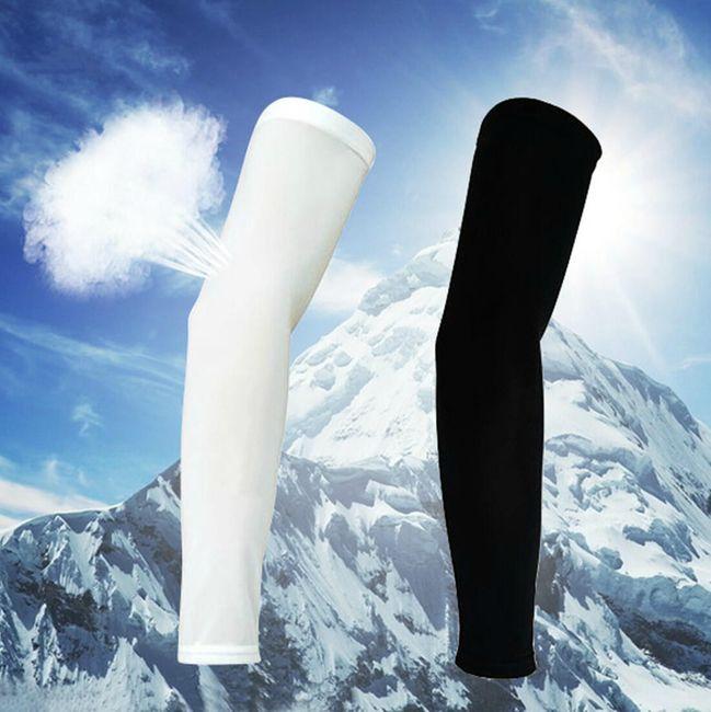Эластичные рукава для спортсменов - 2 цвета 1