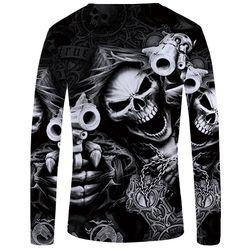 Pánské triko s dlouhým rukávem Satania