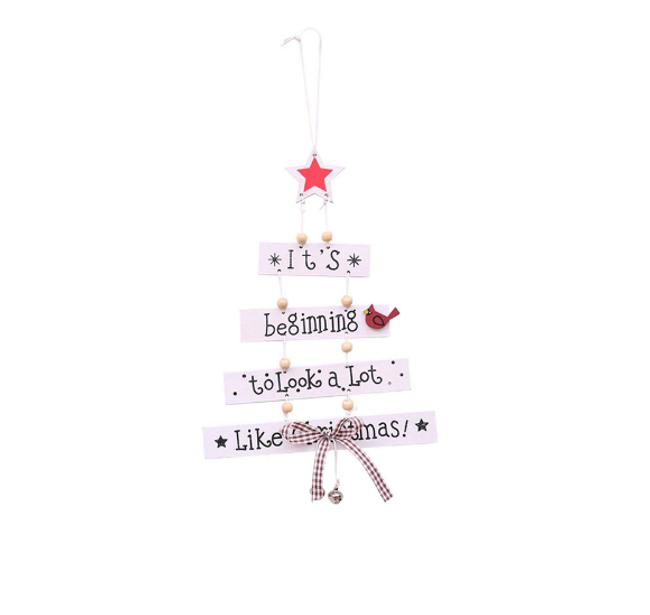 Závěsná vánoční stromek 1