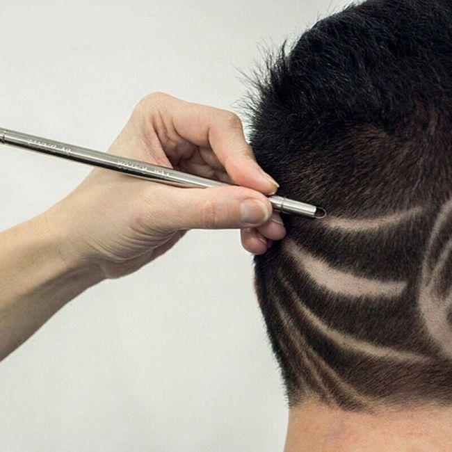 Olovka brijač za crtanje po kosi 1