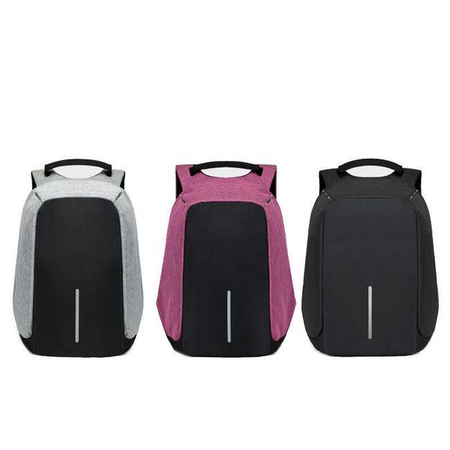Utazási hátizsák USB töltéssel