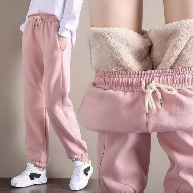 Damskie spodnie dresowe WT110 1