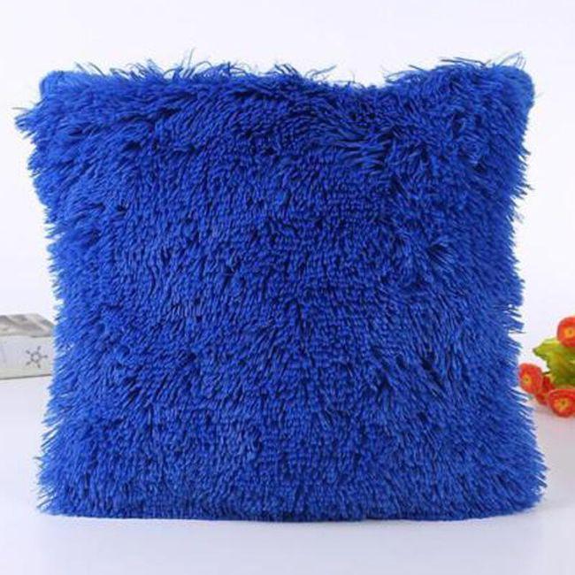 Plyšový povlak na polštářek - 12 barev 1