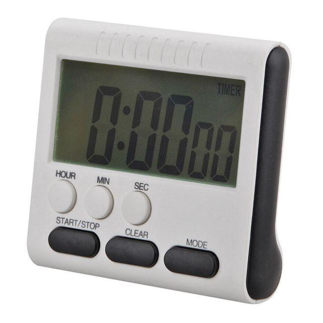 Kuhinjski odštevalnik časa z LCD zaslonom 1
