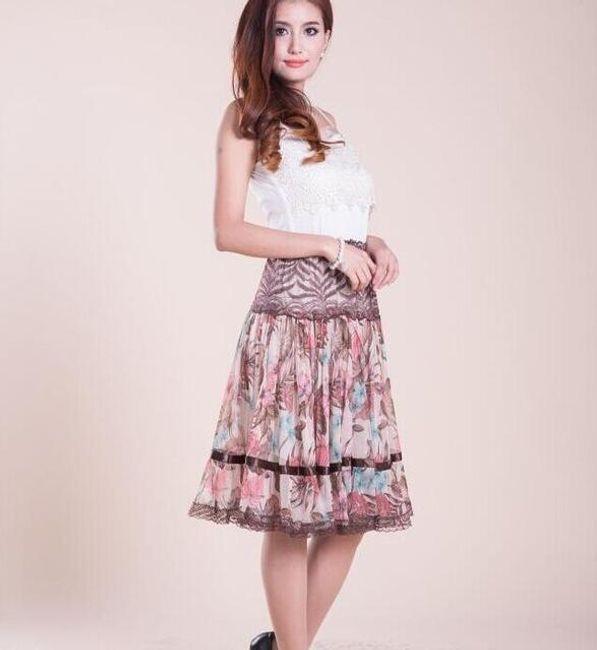 Dámská sukně s potiskem v bohémském stylu 1