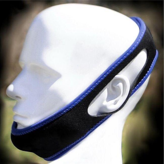 Spalni trak za glavo - proti smrčanju 1