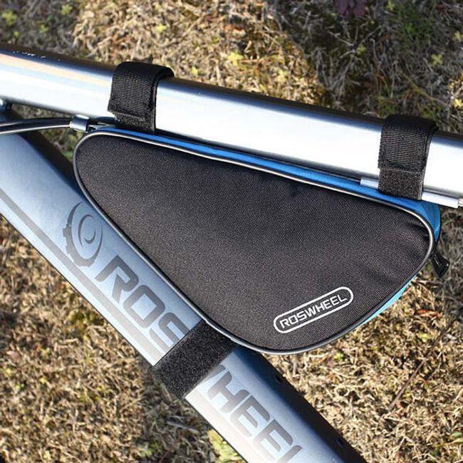 Vázra tehető kerékpár, biciklis táska - 4 szín 1