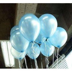 Lśniące baloniki dmuchane 100 sztuk - kilka kolorów