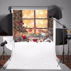 Fotostěna s vánočním motivem