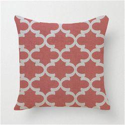 Povlak na polštářek s geometrickými vzory - 24 variant
