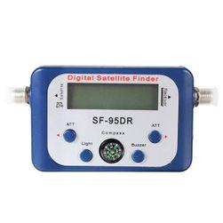 Tester satelitnog signala sa ugrađenim kompasom