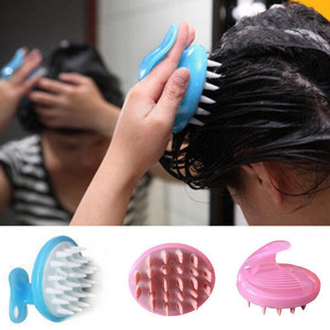 Masážní kartáč pro mytí vlasů 1